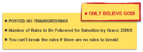 posted no transgressing