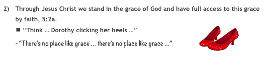there's no place like grace