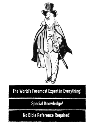world's foremost expert
