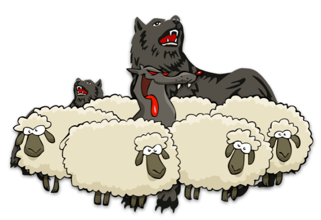 sheep among wolves