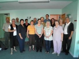 Membres présents à la rencontre du 11 septembre 2010