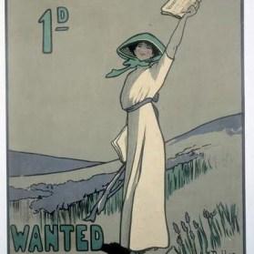 poster by Hilda Dallas, 1909