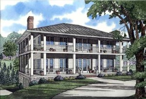 House Plan with Southern Charm - Family Home Plans Blog