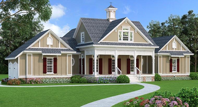 New Victorian Farmhouse Plan