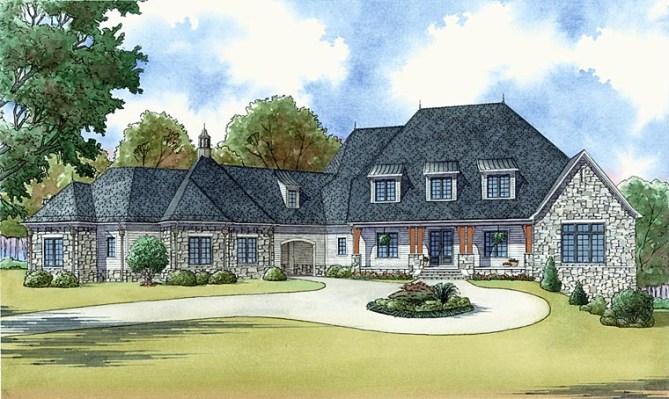 New Luxury Craftsman House Plans