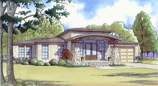 New House Plans with Modern Designs