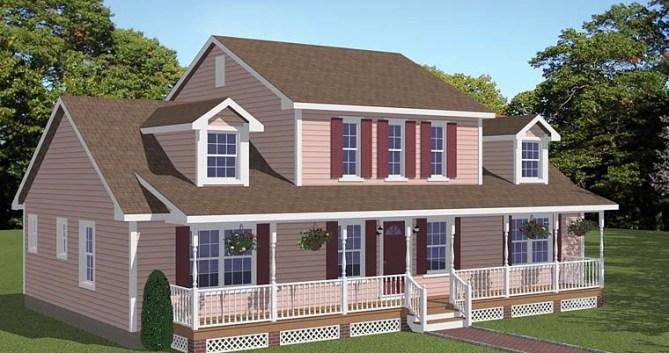 New Farmhouse Plans