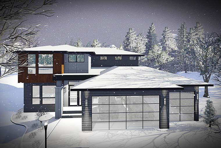 75437 b600 - Download Small Modern House Plans Under 1500 Sq Ft Pictures
