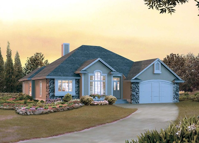 New 3 Bedroom Ranch Home Plans