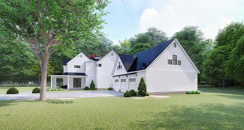Modern 4 Bedroom Farmhouse Plan - Family Home Plans Blog