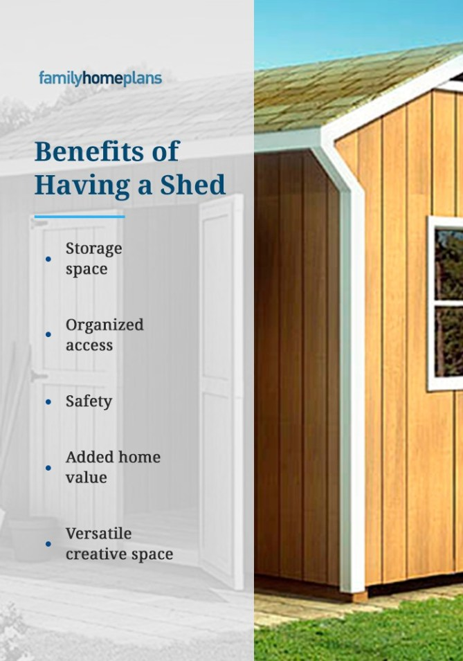 Benefits of Having a Shed