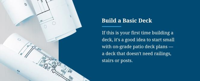 Build a Basic Deck