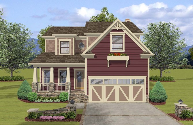3 Bedroom Craftsman House Plan With 2000 Square Feet