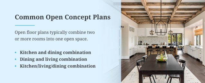 Common Open Concept Plans