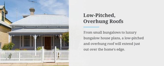 Low-Pitched Overhung Roofs