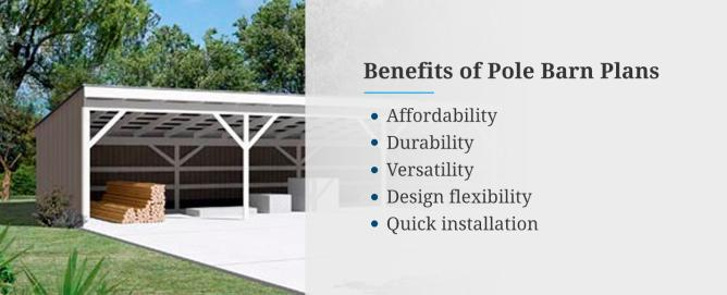 Benefits of Pole Barn Plans
