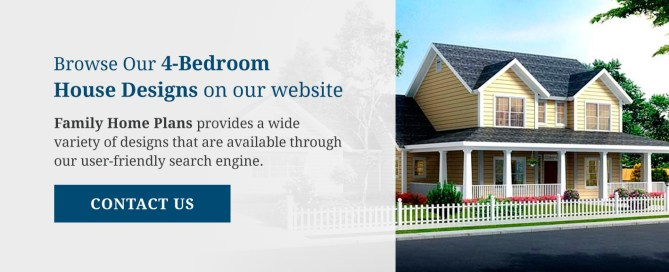 Browse Our 4 Bedroom House Designs