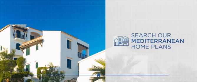 Search Our Mediterranean Home Plans