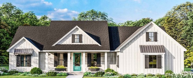 4 Bedroom Southern Style House Plan