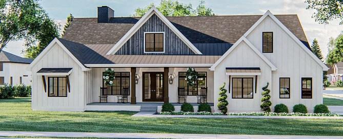 Farmhouse Style House Plan