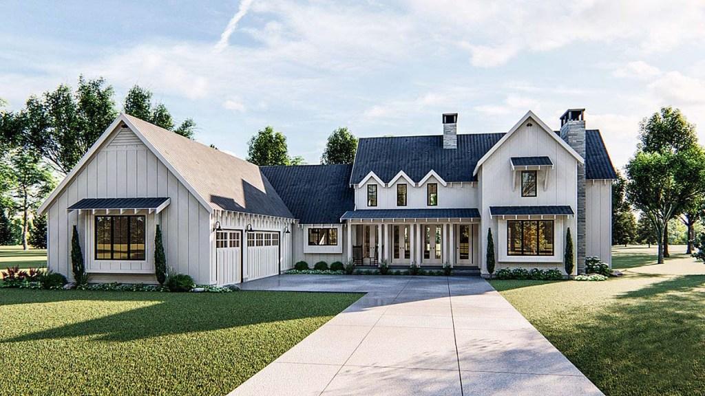 Traditional Farmhouse Plan