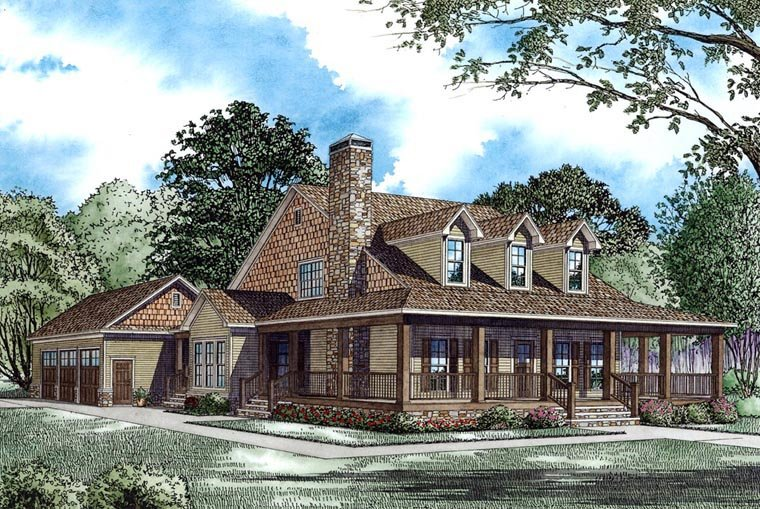 Country Style House Plan