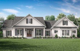 Contemporary Farmhouse Plan