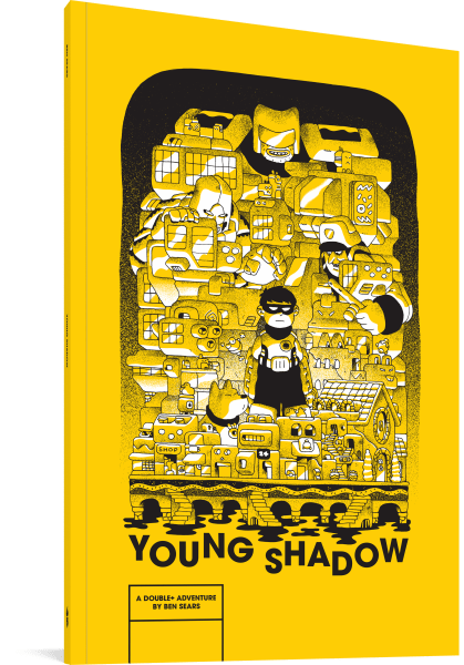 Ben Sears Young Shadow YA Graphic Novel Cover