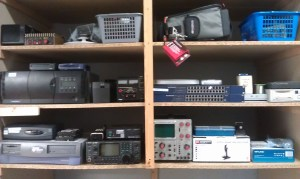 Equipment in the store