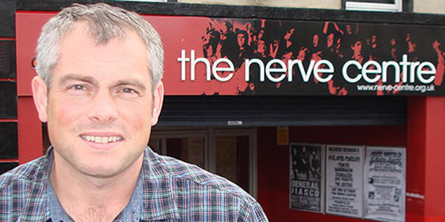 John Peto from Nerve Centre