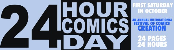 24 Hour Comics Day Banner