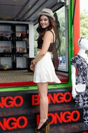 Lucy Hale in Bongo