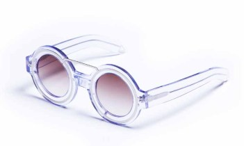 .you and i are in love. Yoko loco, you got the window to my soul, tell everyone that. Clear Acetate and metal insert frame, Tea Gradient lenses.