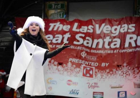 Las Vegas 01 Shania Twain, grand marshal