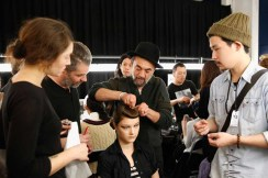 Y-3 : Backstage - Paris Fashion Week - Menswear F/W 2014-2015