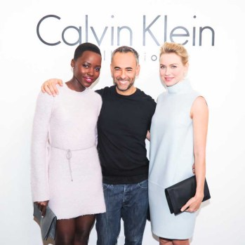 CALVIN KLEIN COLLECTION Presents the Women's Fall 2014 Runway Show at Spring Studios
