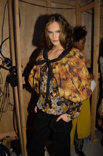 Tracy Reese F14 backstage (15)