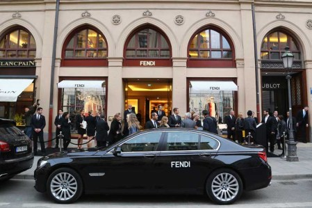 FENDI Boutique Opening In Munich