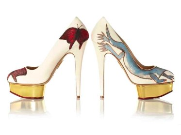 'Vanitas', 2014, Francesco Clemente. Charlotte Olympia for Stepping Up For Art. Photographer Liam Goodman