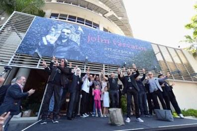 John Varvatos And Ringo Starr Press Conference