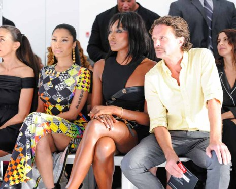 Naomi Campbell and Nicki Minaj