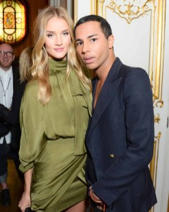 Olivier Rousteing, Rosie Huntington-Whiteley