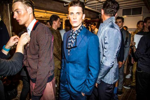 PerryEllis_SS15_Backstage_Model6