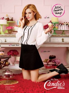 Bella Thorne for Candies Fall 2014 (1)