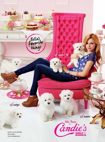 Bella Thorne for Candies Fall 2014 (2)
