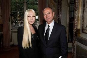 Donatella Versace, Giangiacomo Ferraris