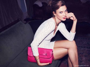 Karlie Kloss for Lancaster Paris Holiday 2014 (6)
