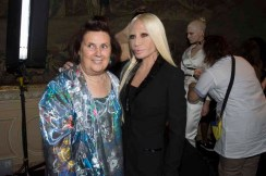 Suzie Menkes, Donatella Versace