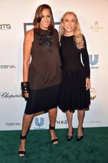 Donna Karan and Franca Sozzani