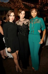 Emily Blunt, Lily Collins, Ashley Madekwe